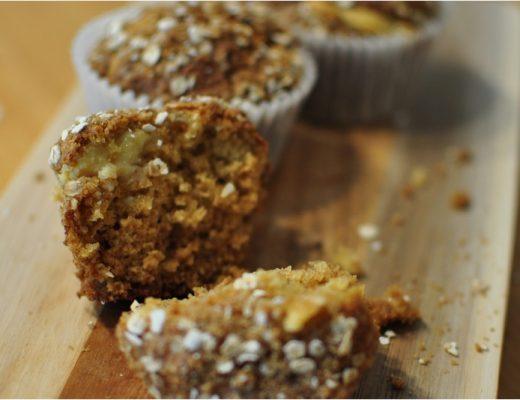 ANZAC caramel muffins