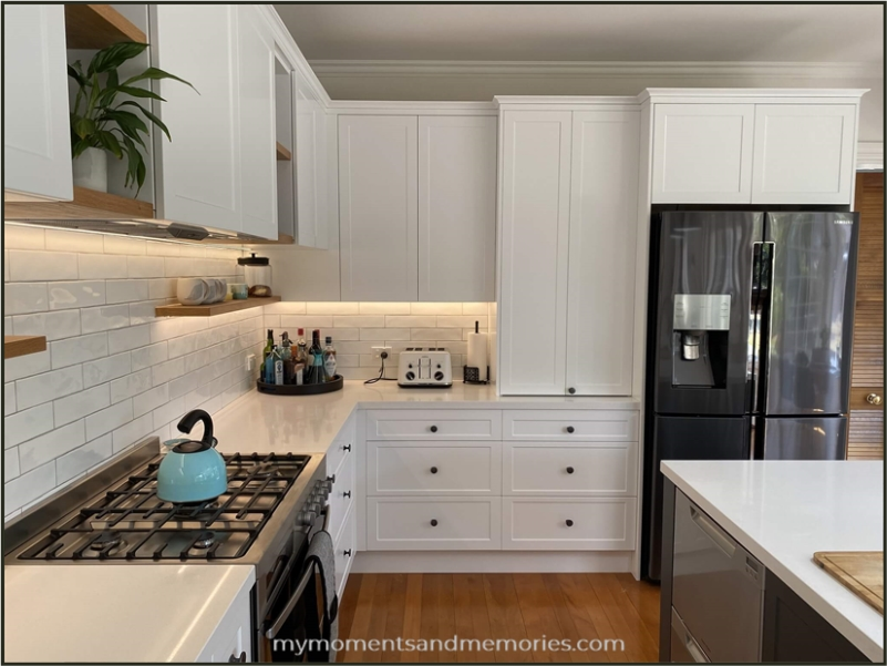 My kitchen remodeled