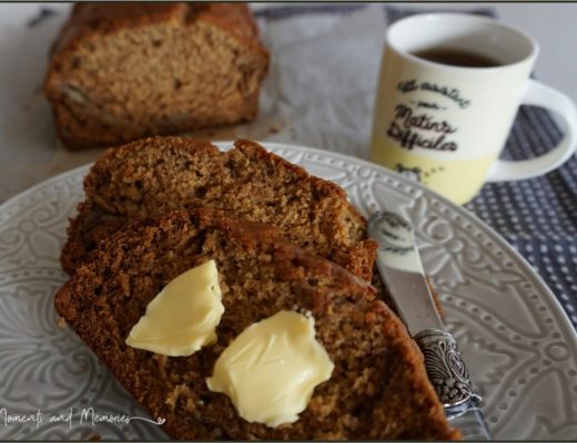 Delicious Banana Ginger Bread