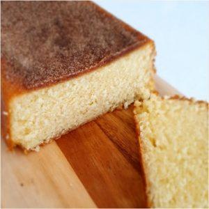 Vanilla bean donut cake