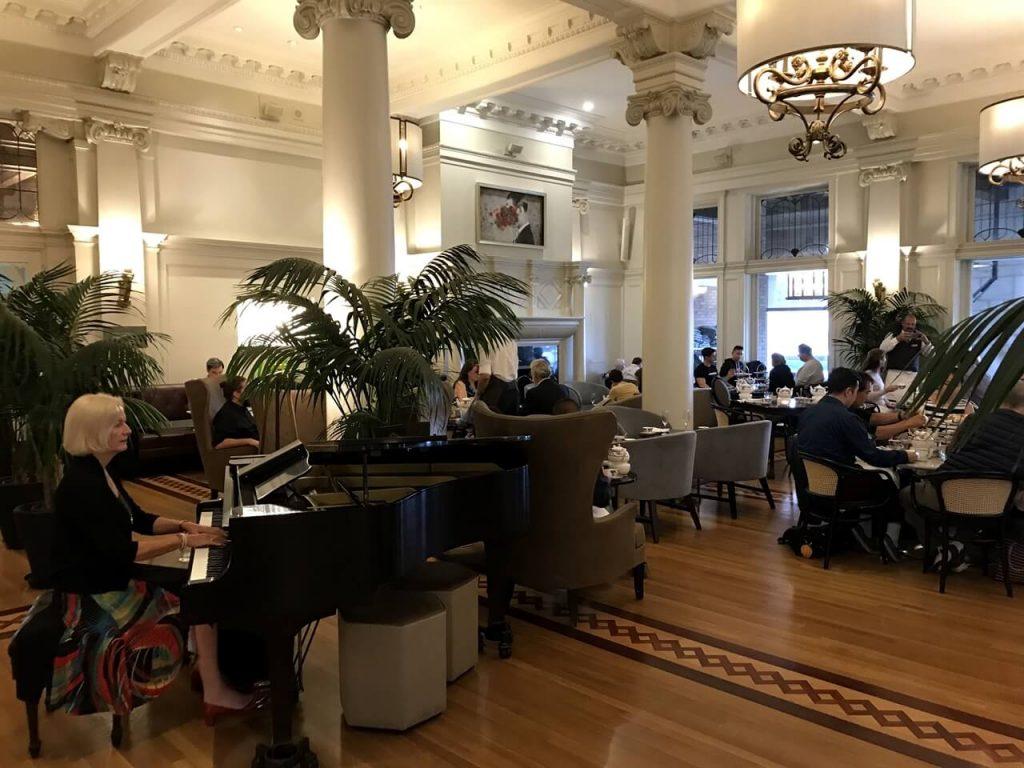 High tea at the Empress Hotel is a fine affair