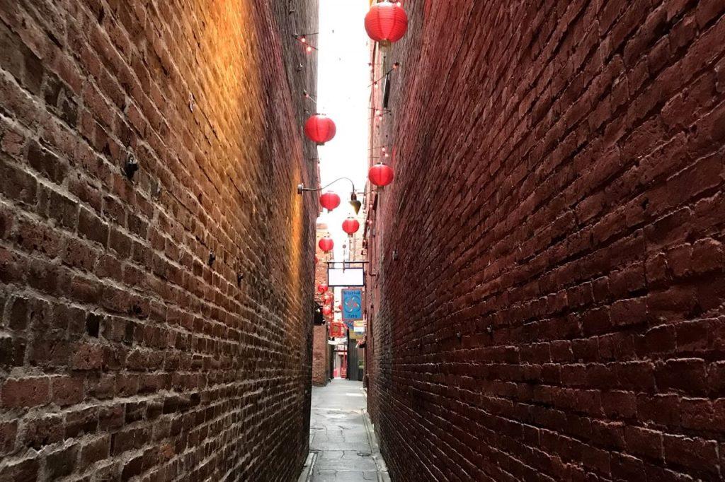Fan Tan Alley in Chinatown, Victoria BC