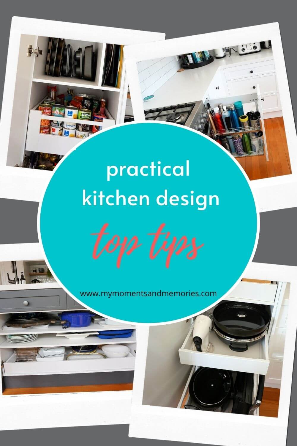 Pin image for practical kitchen design top tips