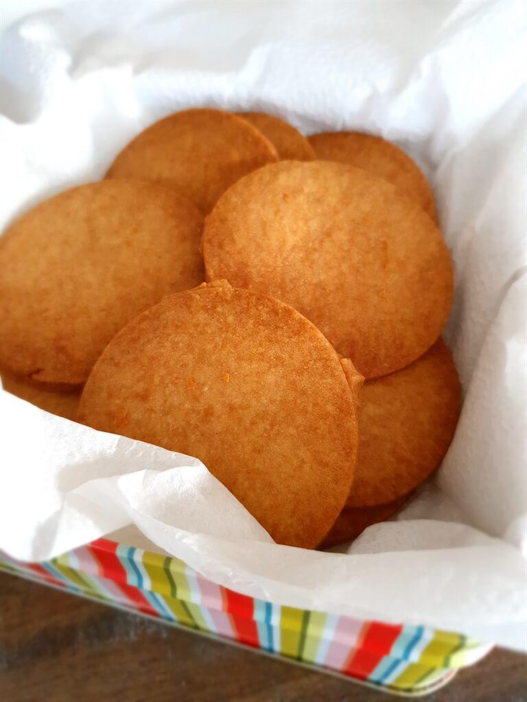 Ginger shortbread cookies – nom nom