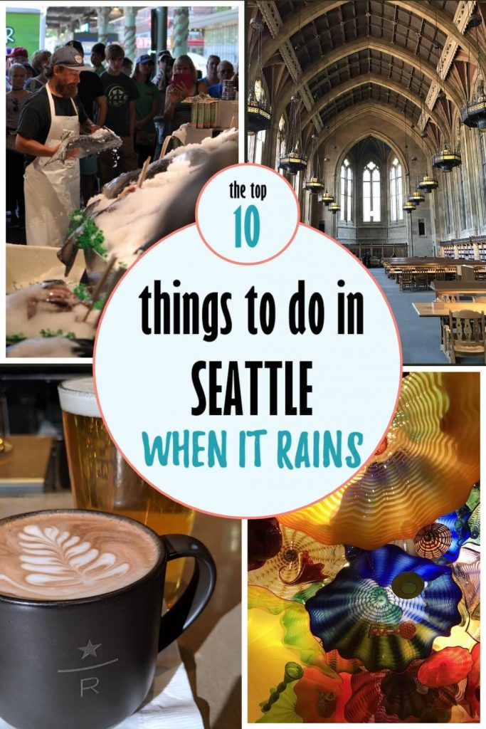 Pinnable image of things to do in Seattle when it rains